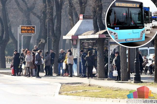 U ponedeljak (skoro pa) redovan režim saobraćanja autobusa, Suboticatrans tvrdi da se stanje popravlja
