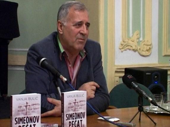 "Promocija romana Vanje Bulića : ""Simeonov pečat"""