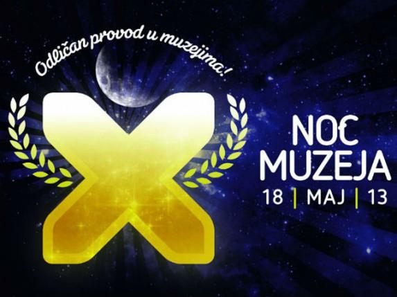 Jubilarna Noć muzeja (18. maj) - PROGRAM