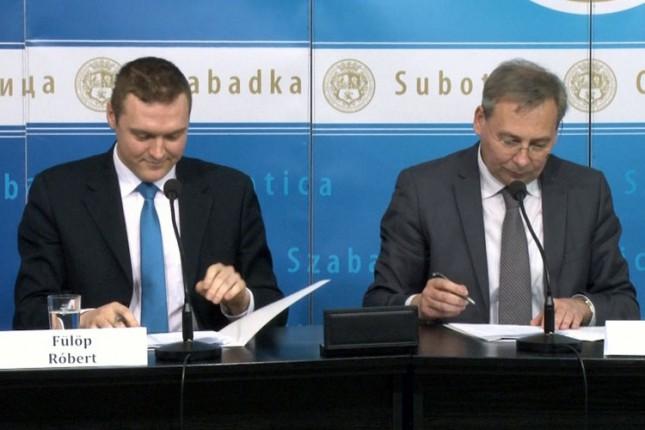 Potpisan Sporazum o saradnji Subotice i Kiškunhalaša