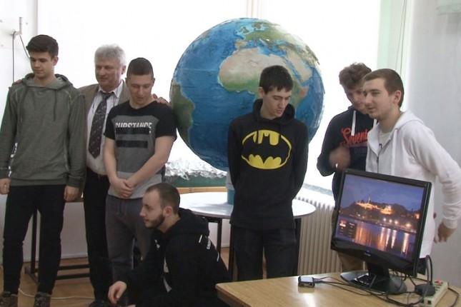 Učenici izradili jedinstveni 3D globus