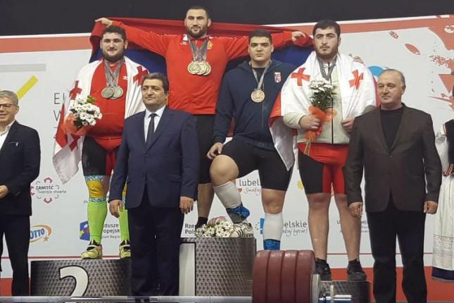 Dizanje tegova: Tamaš Kajdoči bronzan na Evropskom prvenstvu