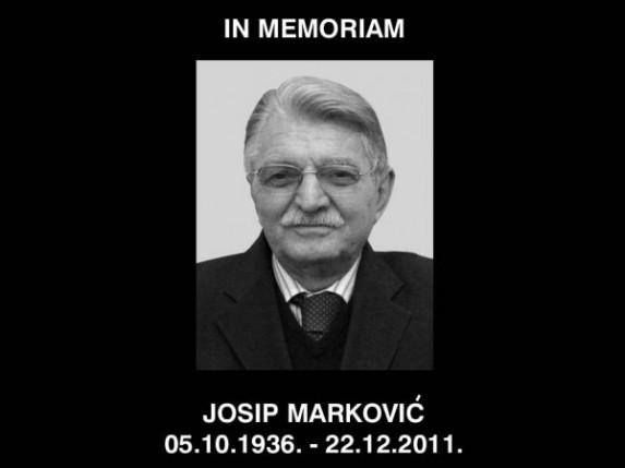 Preminuo Josip Marković