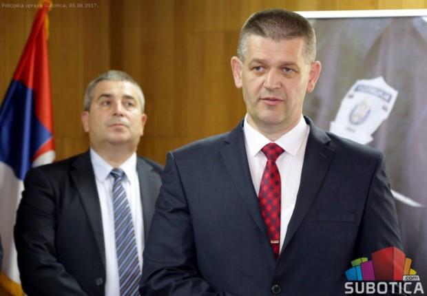 Nenad Sekulić (po)ostaje načelnik subotičke policije
