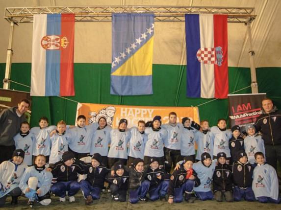 Učešće mladih hokejaša Spartaka na turniru u Sarajevu