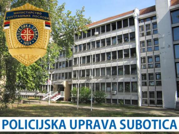 Nedeljni izveštaj Policijske uprave Subotica (4.11.)