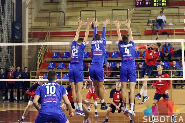 Odbojka: Spartak poveo protiv Jedinstva u četvrtfinalu plejof serije