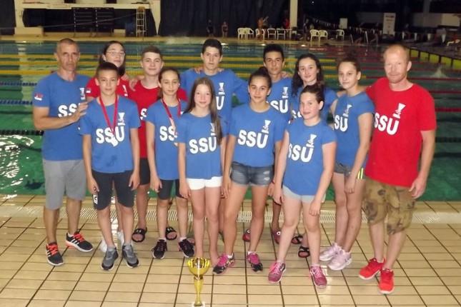 Plivanje: Spartak osvojio 56 medalja na Prvenstvu Vojvodine, posebna priznanja za Koltina i Dulića