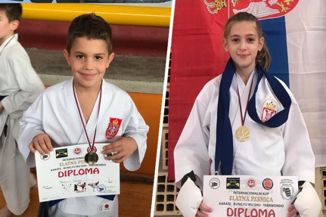 """Karate: Osam medalja mlađih takmičara Spartak Enpija sa turnira """"Zlatna pesnica"""" u Odžacima"""