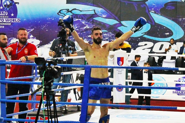 Kik boks: Keljanović vicešampion sveta u lou kik kategoriji