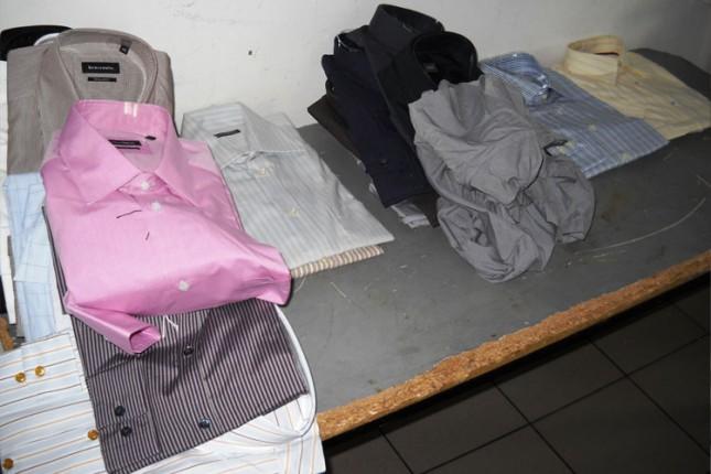 Na Horgošu zaplenjena garderoba vredna 2 miliona dinara