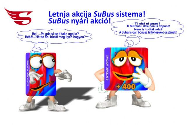 Letnja akcija SuBus sistema