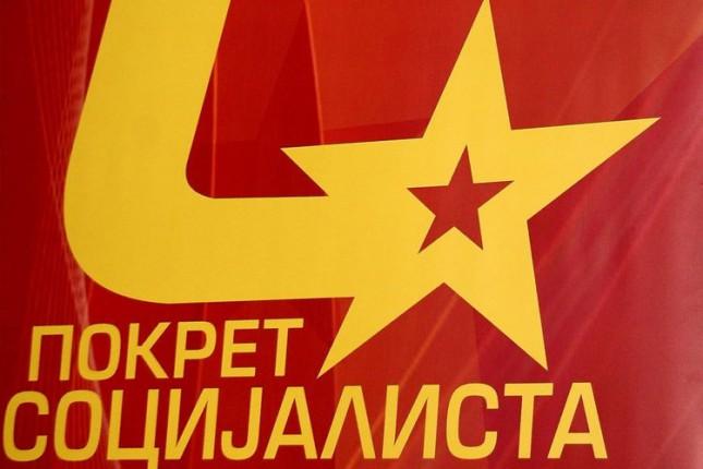 Saopštenje PO Pokreta socijalista