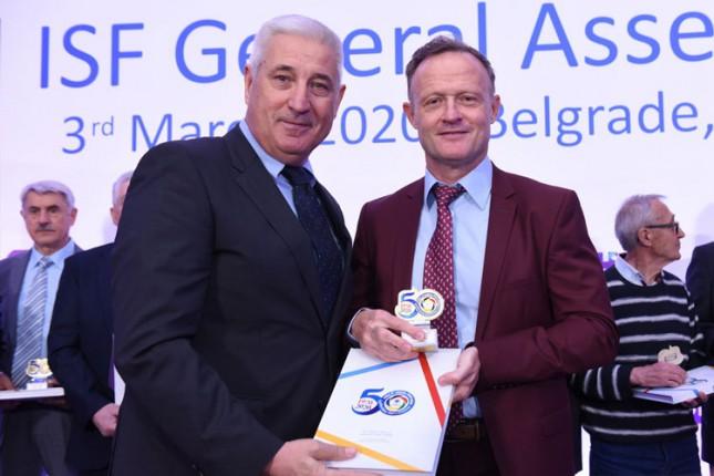Savez za školski sport Srbije obeležio jubilej, plaketa Radoslavu Svirčevu