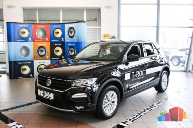 """Auto kuća """"Tasić"""" promovisala VW T-Roc"""