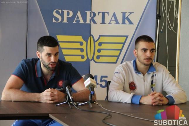 Košarkaši Spartaka u subotu gostuju Konstantinu