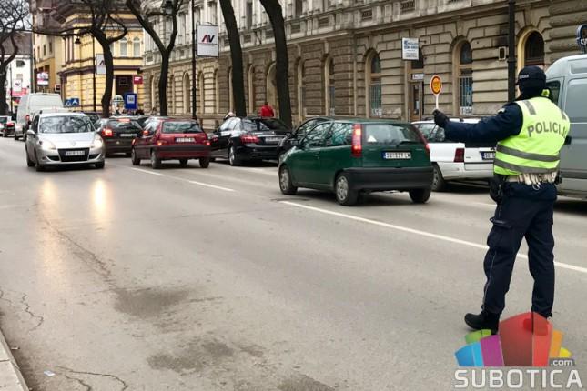 Akcija pojačane kontrole saobraćaja u ponedeljak