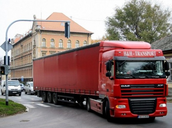 Bez kamiona od Patrije do Zagrebačke