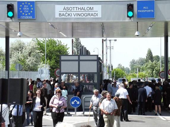 Otvoren novi granični prelaz: Bački Vinogradi - Ašothalom
