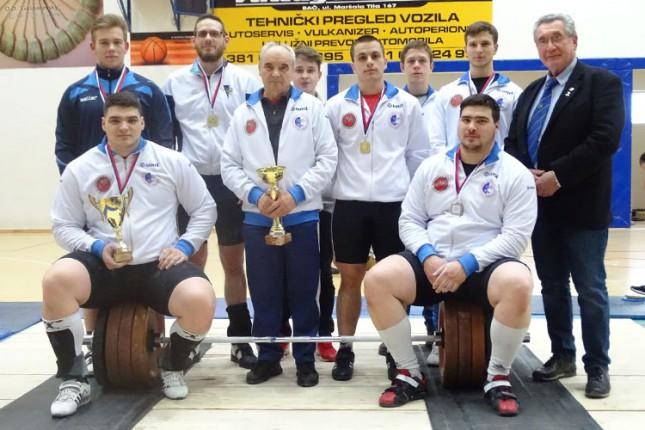 Dizanje tegova: Spartak pobednik 1. kola Prvenstva Srbije