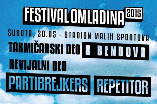 Počele prijave sa Festival Omladina 2015