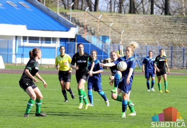 Fudbalerke Spartaka u derbiju savladale Mašinac (2:0)