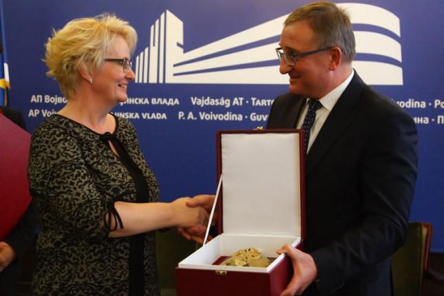 "Branka Bešlić dobitnica prestižnog priznanja ""Dr Đorđe Natošević"""