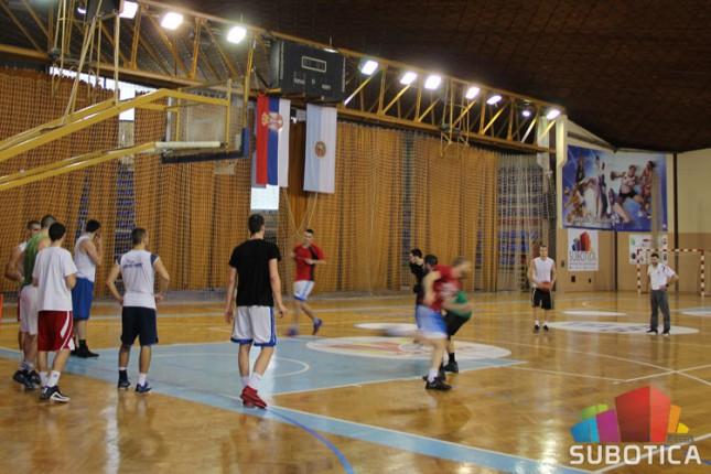 Košarkaši Spartaka u subotu protiv Tamiša u Pančevu