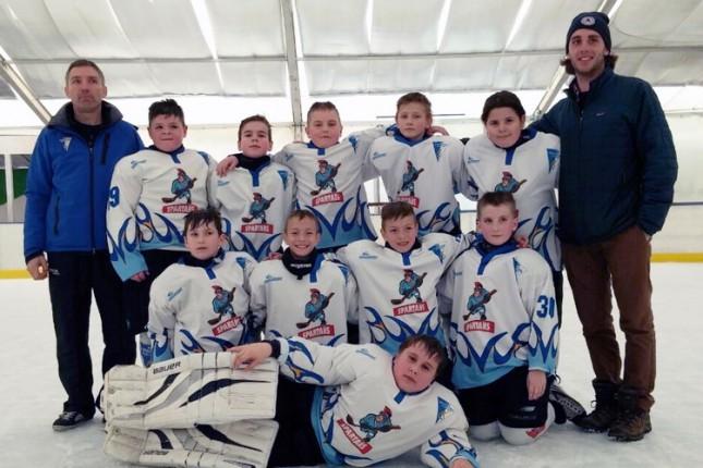 Mladi hokejaši Spartaka (U10) osvojili turnir u Budimpešti