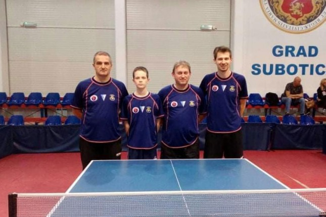 Stoni tenis: Spartak Stoss preko Obilića došao do prve pobede u sezoni