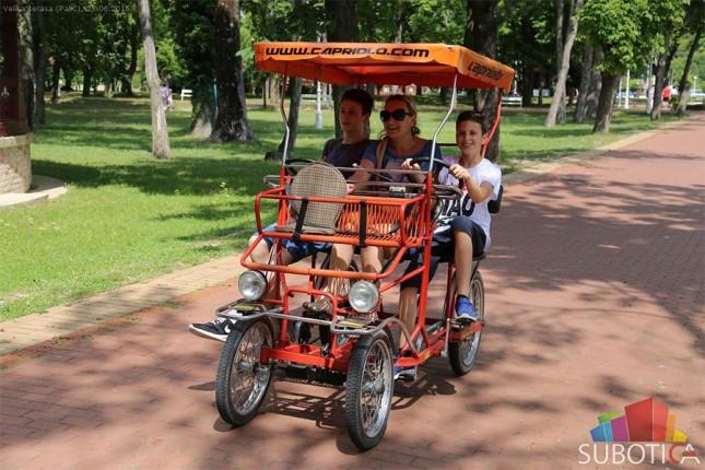 Na Paliću otvorena 171. letnja turistička sezona