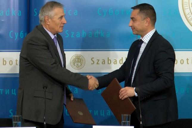 Potpisan sporazum o saradnji između Grada Subotice i Privredne komore SBO