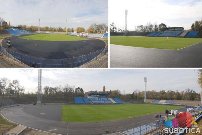 Gradski stadion biće spreman 5. decembra za duel sa šampionom Srbije