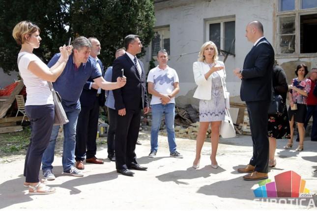 Ministarka Jadranka Joksimović obišla Gerontološki centar