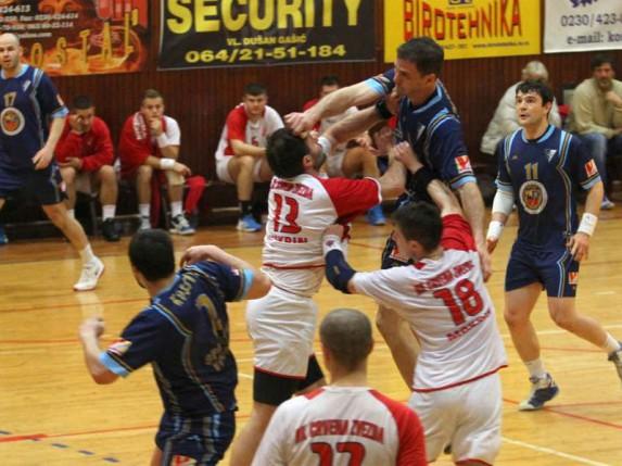 Pobeda rukometaša Spartak Vojput-a protiv Crvene zvezde iz Kikinde
