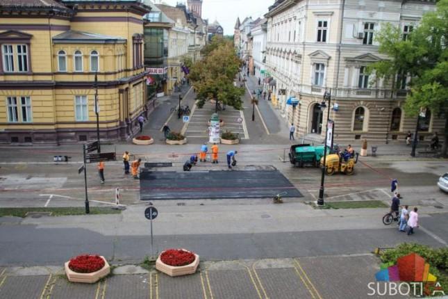 """Zamenjen """"ležeći policajac"""" između Korzoa i Jadrana"""