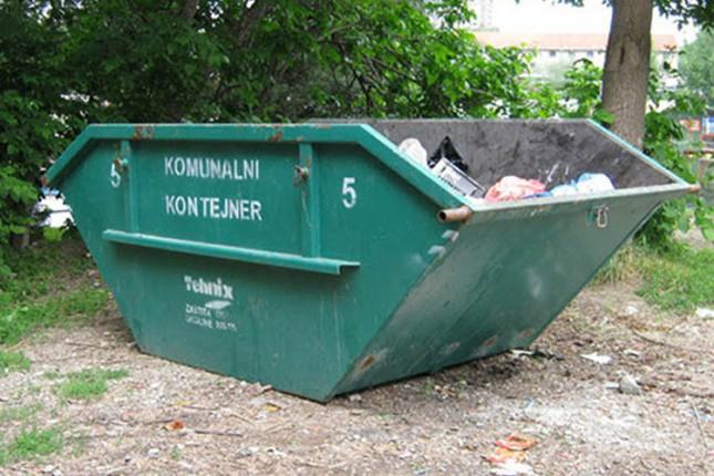 Kontejneri za kabasti otpad u pet mesnih zajednica