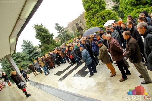 Održan protest subotičkih advokata
