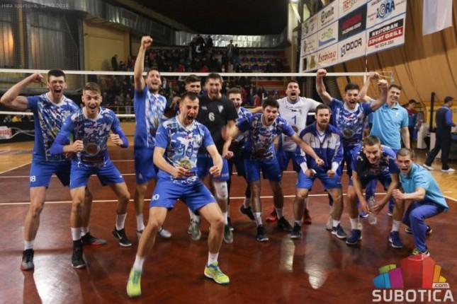Odbojka: Spartak u polufinalu plejofa posle fantastične pobede protiv Jedinstva