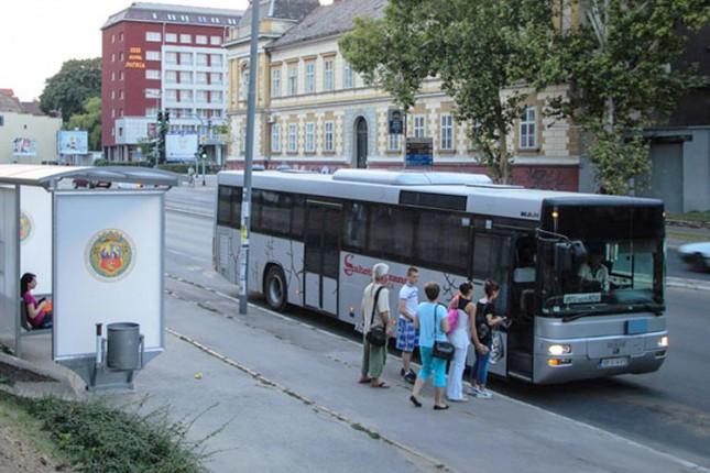 Promena u saobraćanju prigradske linije Subotica - Kelebija