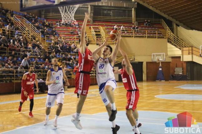 Košarka: Spartak poražen od Radničkog (94:113)