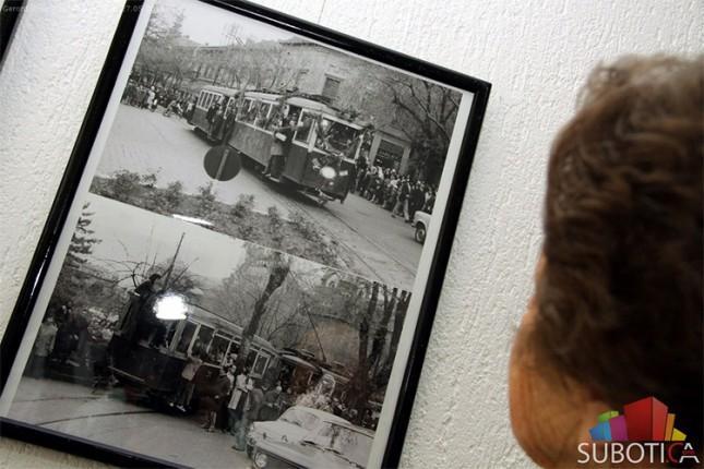 Otvorena izložba fotografija o tramvaju