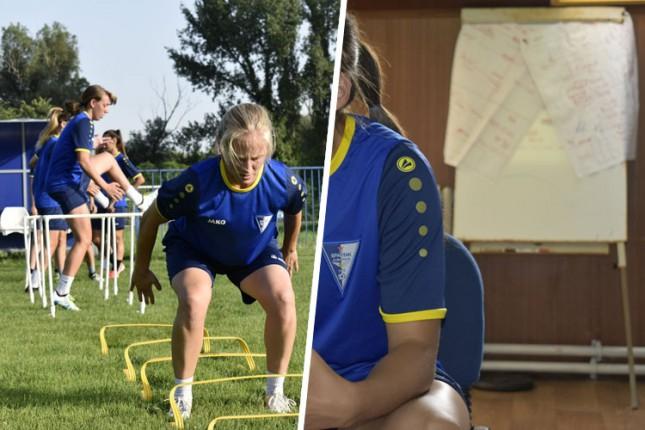 """Fudbal: """"Golubice"""" počele pripreme za novu sezonu i Ligu šampiona"""