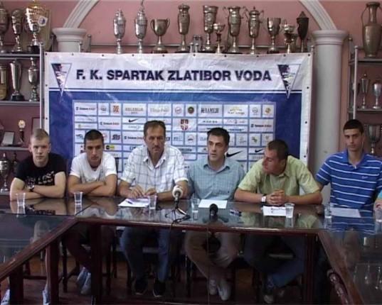 """Uspešna sezona za sve selekcije FK """"Spartak Zlatibor voda"""""""