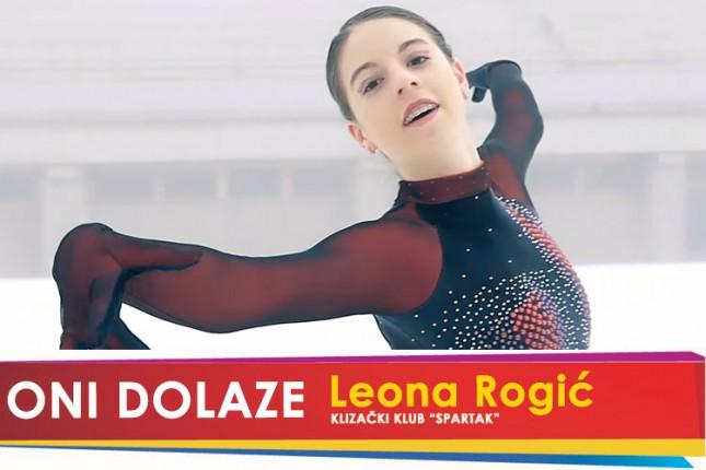 """Oni dolaze: Leona Rogić, klizačica Klizačkog kluba """"Spartak"""""""