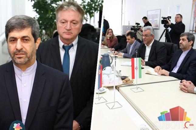 """Ambasador Irana u poseti """"ATB Sever"""""""
