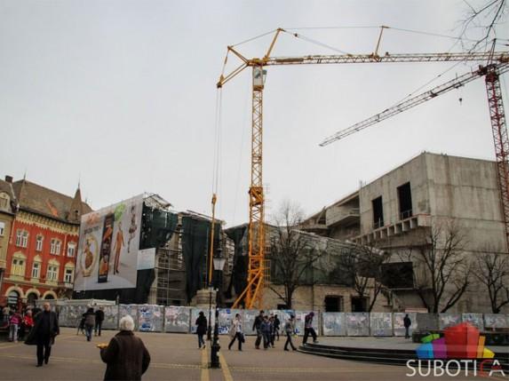 Dulić: Neću dozvoliti novo rušenje Narodnog pozorišta