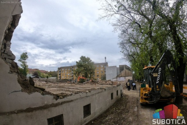 Srušene kuće u Ulici Braće Radić - kulturno dobro ili opasnost za okolinu?