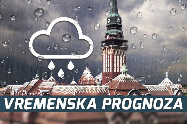 Vremenska prognoza za 14. novembar (utorak)