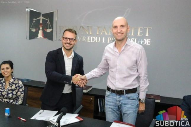 Pravni fakultet i VTŠ potpisali sporazum o saradnji